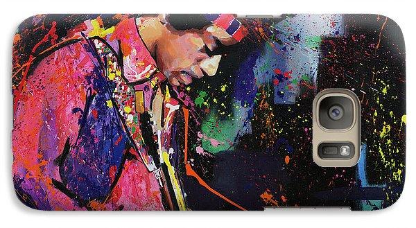Bob Dylan Galaxy S7 Case - Jimi Hendrix II by Richard Day