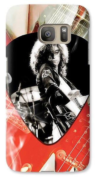 Jimmy Page Art Galaxy S7 Case