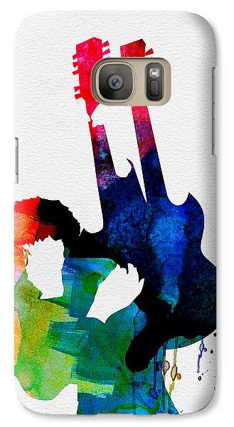 Jimmy Watercolor Galaxy S7 Case