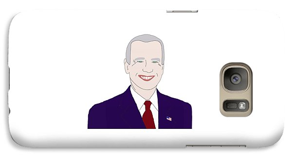 Joe Biden Galaxy Case by Priscilla Wolfe