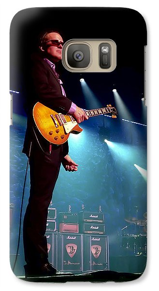 Drum Galaxy S7 Case - Joe Bonamassa 2 by Peter Chilelli