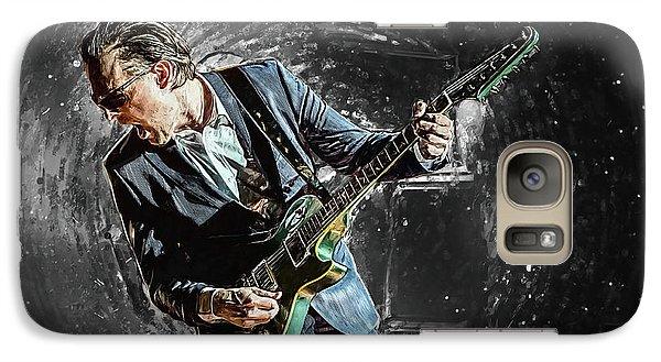 Eric Clapton Galaxy S7 Case - Joe Bonamassa by Taylan Apukovska