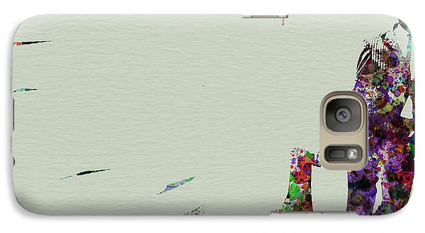 Saxophone Galaxy S7 Case - Joe Henderson Watercolor 2 by Naxart Studio