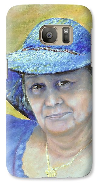 Galaxy Case featuring the painting Johanna by Luczay