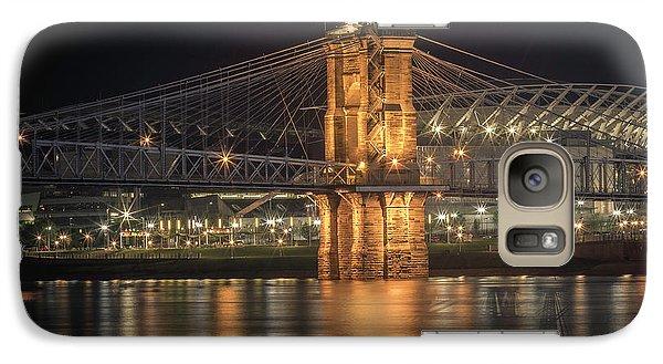 John A. Roebling Suspension Bridge Galaxy S7 Case