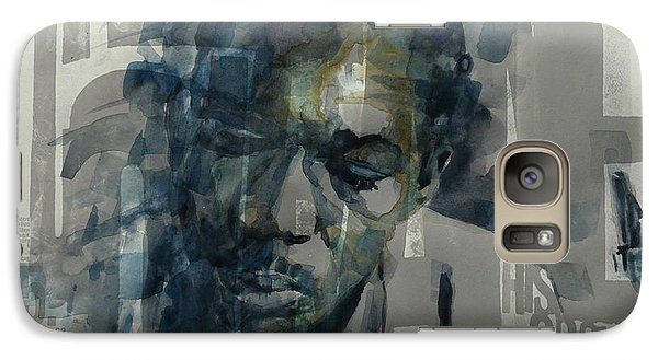 Galaxy Case featuring the mixed media John Coltrane  by Paul Lovering