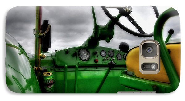 Galaxy Case featuring the photograph John Deere 830 Dash by Trey Foerster