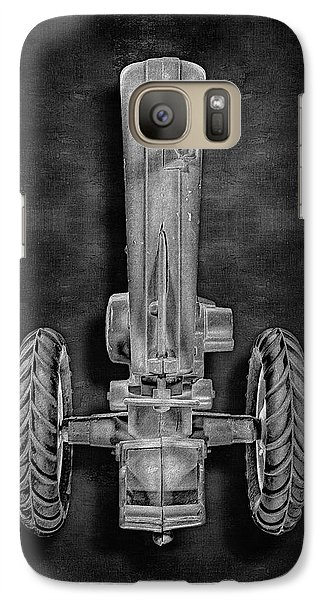 Galaxy Case featuring the photograph John Deere Top Bw by YoPedro