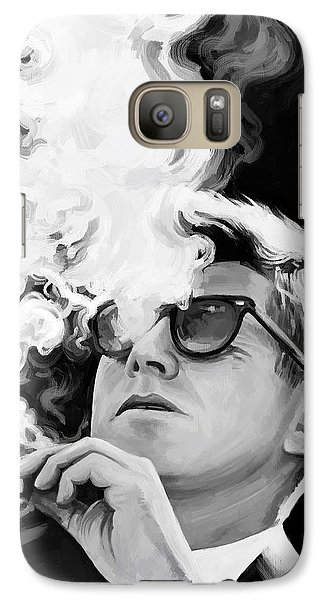 Galaxy Case featuring the painting John F. Kennedy Artwork 1 by Sheraz A