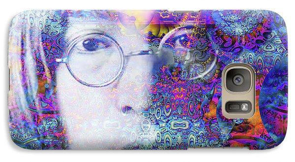 Galaxy Case featuring the digital art John by Robert Orinski