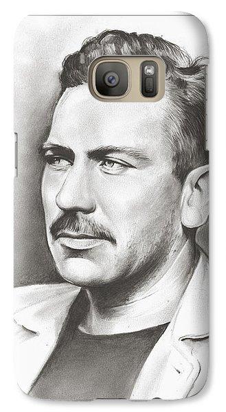 John Steinbeck Galaxy Case by Greg Joens