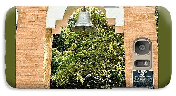 Galaxy Case featuring the photograph John Wheeler Bunton Historic Memorial by Ray Shrewsberry