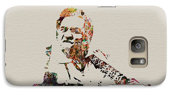 Johnny Cash Galaxy S7 Case by Naxart Studio