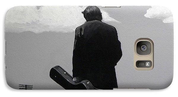 Johnny Cash Galaxy S7 Case - Johnny Cash by Tom Carlton