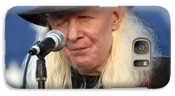 Galaxy Case featuring the photograph Johnny Winter by Mike Martin