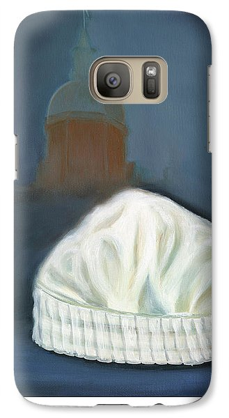Galaxy Case featuring the painting Johns Hopkins University School Of Nursing by Marlyn Boyd