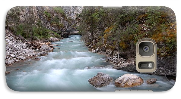 Galaxy Case featuring the photograph Johnston Canyon In Banff National Park by RicardMN Photography