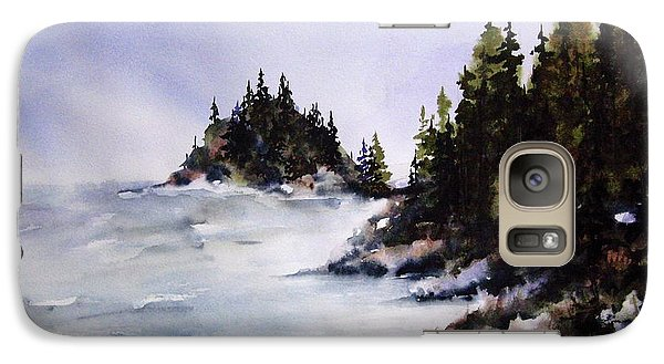 Galaxy Case featuring the painting Johnstone Strait by Marti Green