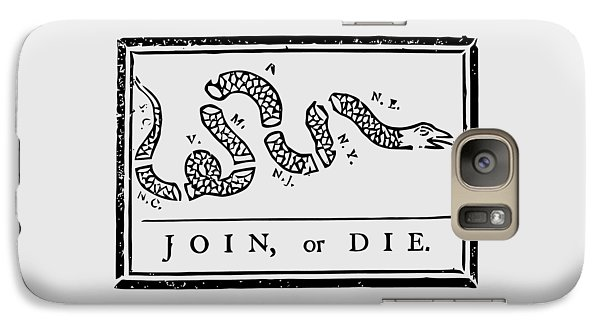 Join Or Die Galaxy S7 Case
