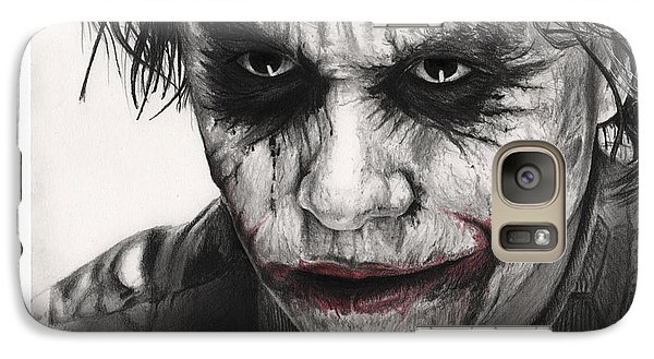 Joker Face Galaxy S7 Case by James Holko