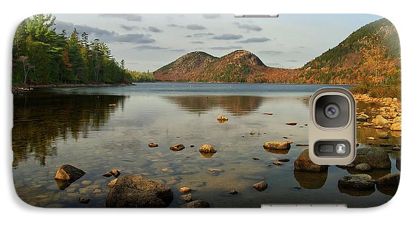 Galaxy Case featuring the photograph Jordan Pond 1 by Arthur Dodd