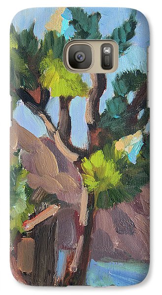 Galaxy Case featuring the painting Joshua At Keys Ranch by Diane McClary