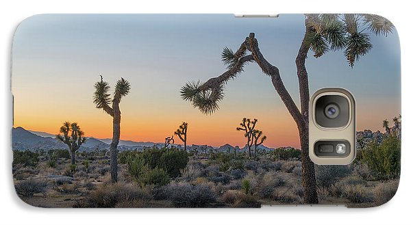 Joshua Sunset Galaxy Case by Joseph Smith
