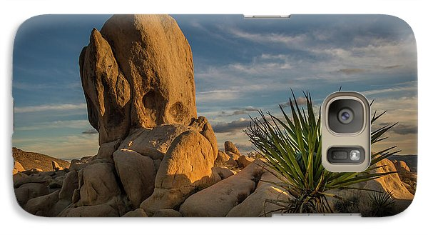 Joshua Tree Rock Formation Galaxy S7 Case