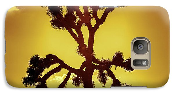 Galaxy Case featuring the photograph Joshua Tree by Stephen Stookey