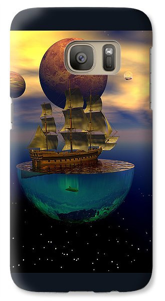Galaxy Case featuring the digital art Journey Into Imagination by Claude McCoy