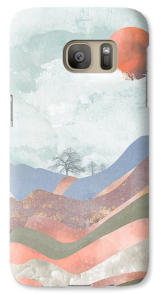 Landscapes Galaxy S7 Case - Journey To The Clouds by Katherine Smit
