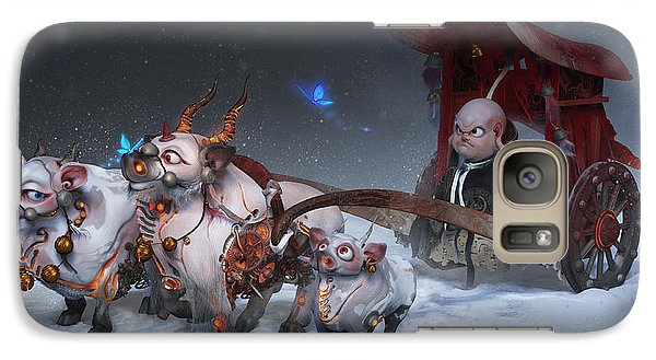 Galaxy Case featuring the digital art Journey To The West by Te Hu