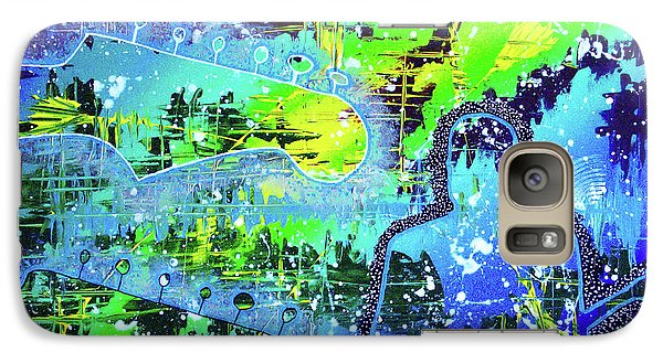 Galaxy Case featuring the painting Journeyman by Melissa Goodrich