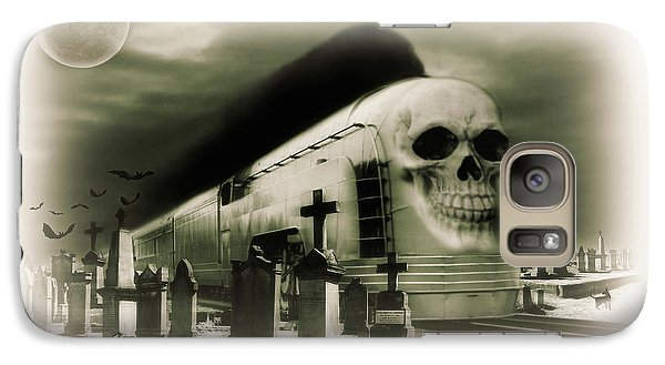 Galaxy Case featuring the photograph Journeys End by Steven Agius