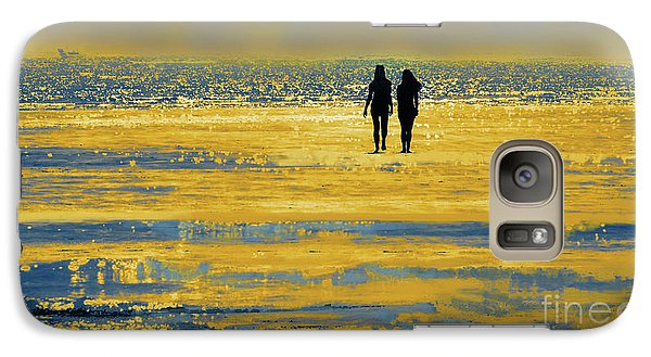 Galaxy Case featuring the photograph Jovenes by Alfonso Garcia