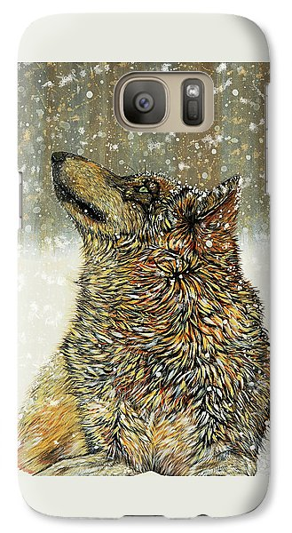 Galaxy Case featuring the painting Joy by Debbie Chamberlin