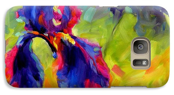 Galaxy Case featuring the painting Joy In The Morning by Chris Brandley