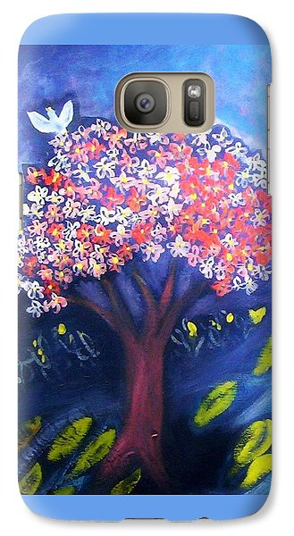 Galaxy S7 Case featuring the painting Joy by Winsome Gunning