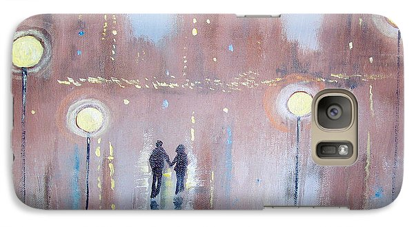 Galaxy Case featuring the painting Joyful Bliss by Raymond Doward