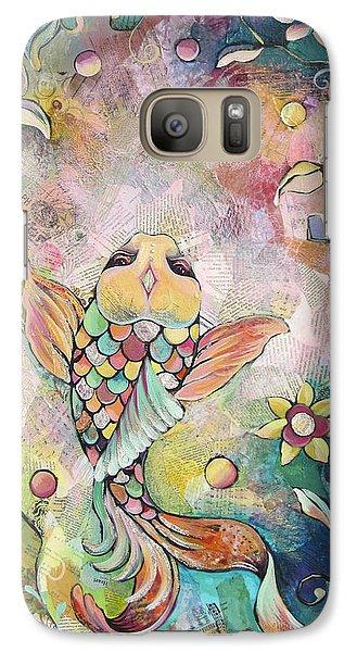Joyful Koi I Galaxy S7 Case by Shadia Derbyshire