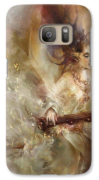 Galaxy Case featuring the digital art Joyment by Te Hu