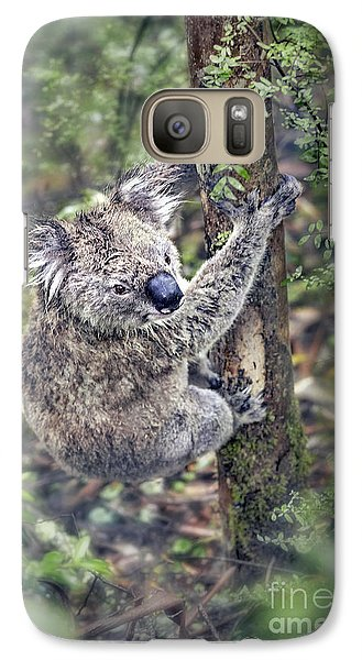 Koala Galaxy S7 Case - Joyous Hangover by Evelina Kremsdorf