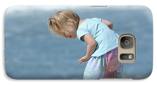 Galaxy Case featuring the photograph Joys Of Childhood by Fraida Gutovich