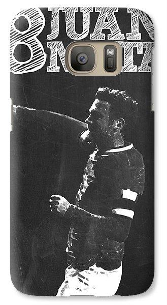 Juan Mata Galaxy S7 Case by Semih Yurdabak