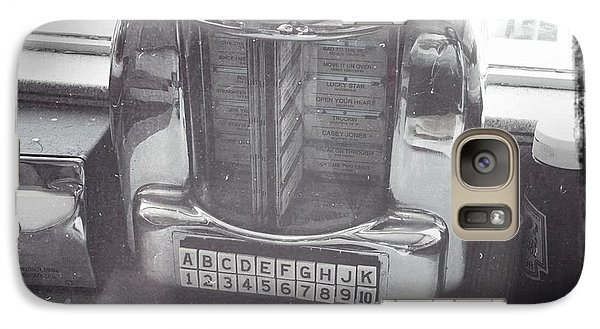 Galaxy Case featuring the photograph Juke Box by Nina Prommer