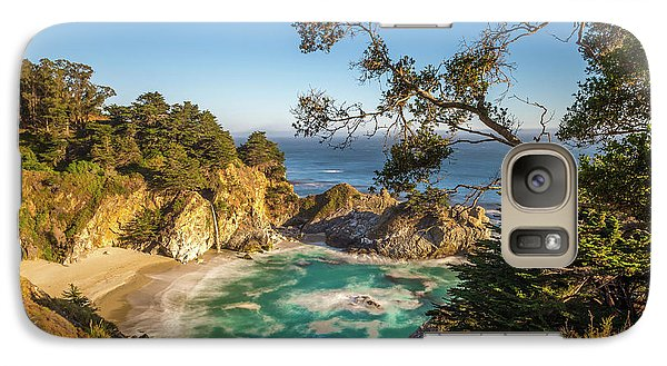 Galaxy Case featuring the photograph Julia Pfeiffer Burns State Park California by Scott McGuire