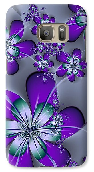 Galaxy Case featuring the digital art Julia The Florist by Michelle H