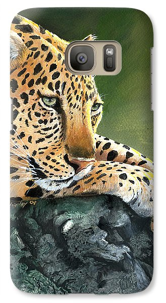 Galaxy Case featuring the painting Jumanji by Sherry Shipley