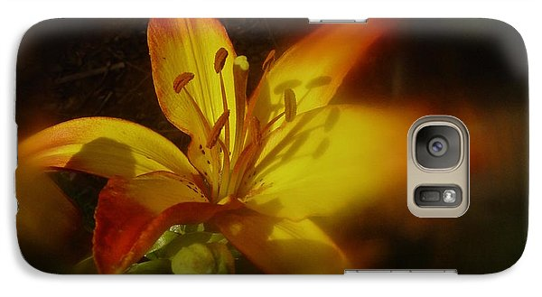 Galaxy Case featuring the photograph June 2016 Lily by Richard Cummings