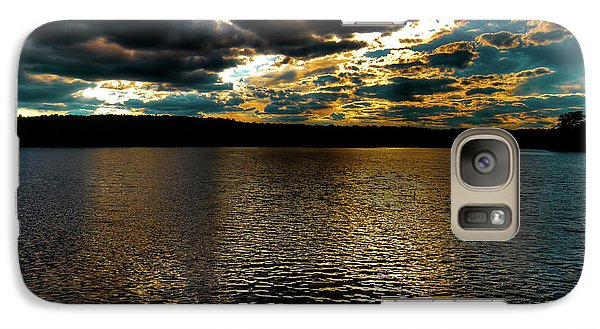 Galaxy S7 Case featuring the photograph June Sunset On Nicks Lake by David Patterson